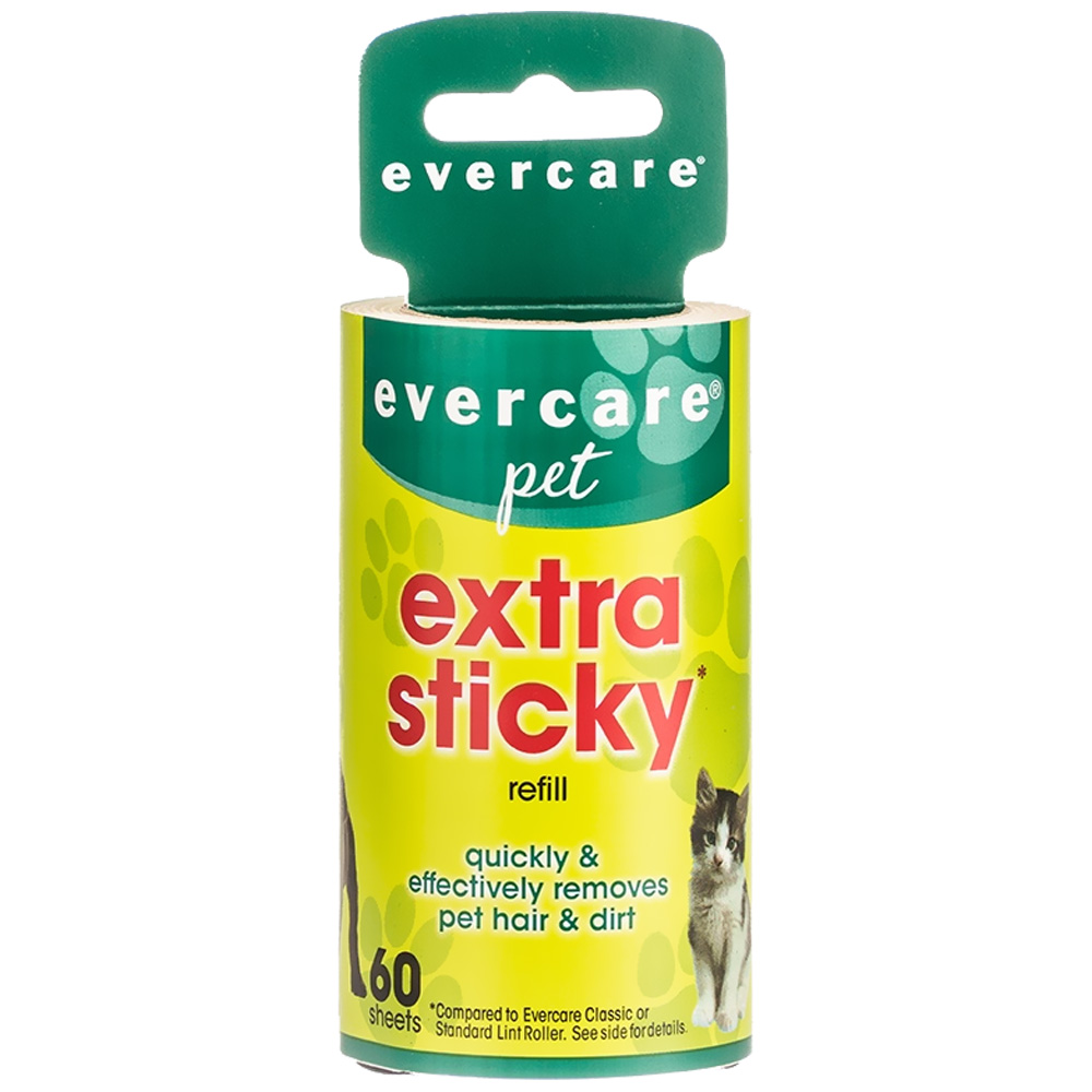 """Evercare Pet Hair Lint Roller Refill 60 layers (30.1 ftx4"""")"""
