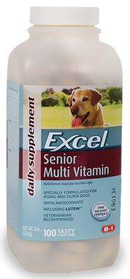 Excel Multi Vitamin for Senior Dogs (100 tabs)