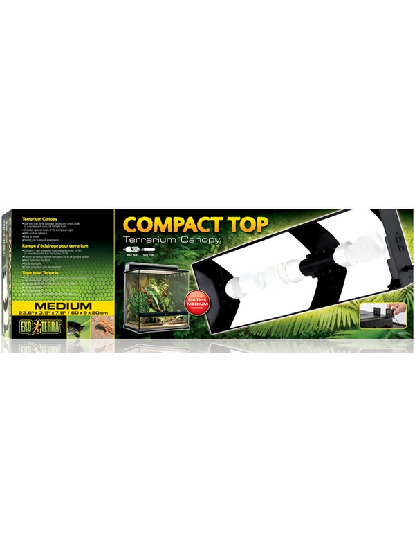 Exo Terra Compact Top Canopy - Medium