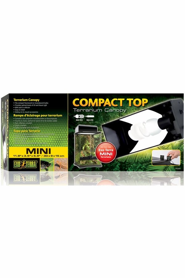 Exo Terra Compact Top Canopy - Mini