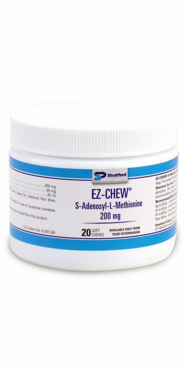 EZ-CHEW S-Adenosyl Plus 200mg (20 Soft Chews)