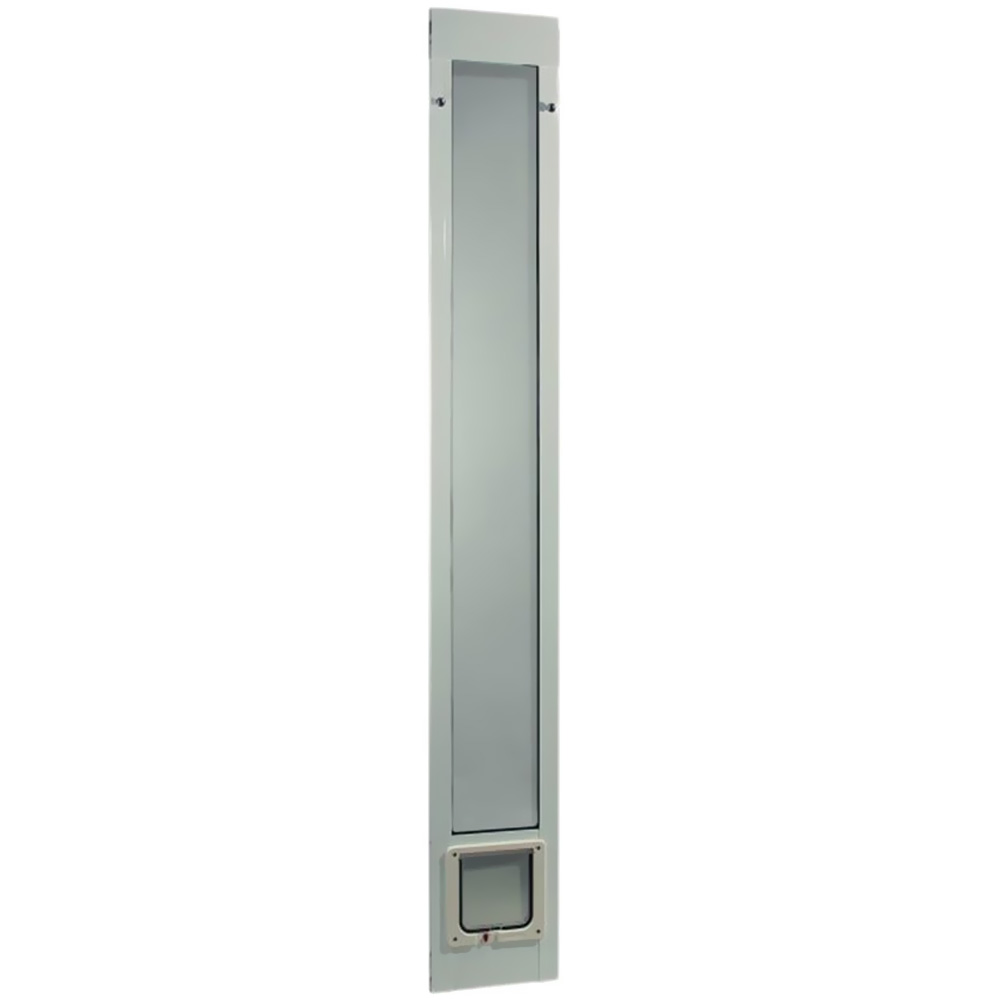 """Fast Fit Pet Patio Door 80"""" - Cat Flap Small (White)"""