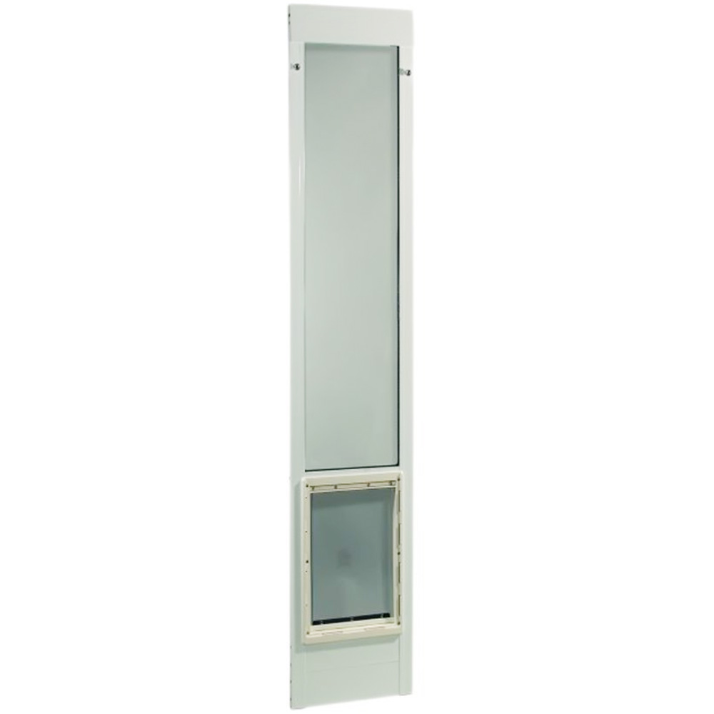 """Fast Fit Pet Patio Door 96"""" - Extra Large (White)"""
