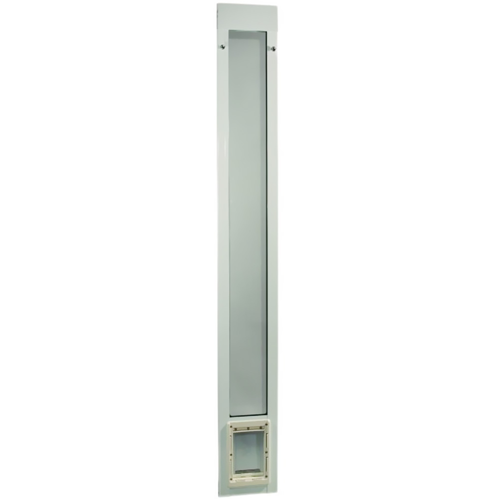"""Fast Fit Pet Patio Door 96"""" - Small (White)"""