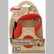 Flexi Durabelt Belt Retractable Leash - Small/Medium 44 lbs. - Red 16 ft.
