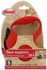 Flexi Explore Cord Retractable Leash - Small 26 lbs. - Red 23 ft.