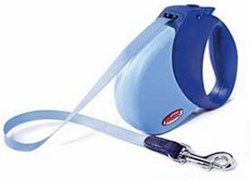 Flexi Expression Retractable Leash Blue - Medium/Large