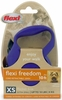 Flexi Freedom Cord Retractable Leash - XSmall 18 lbs. - Purple 10 ft.