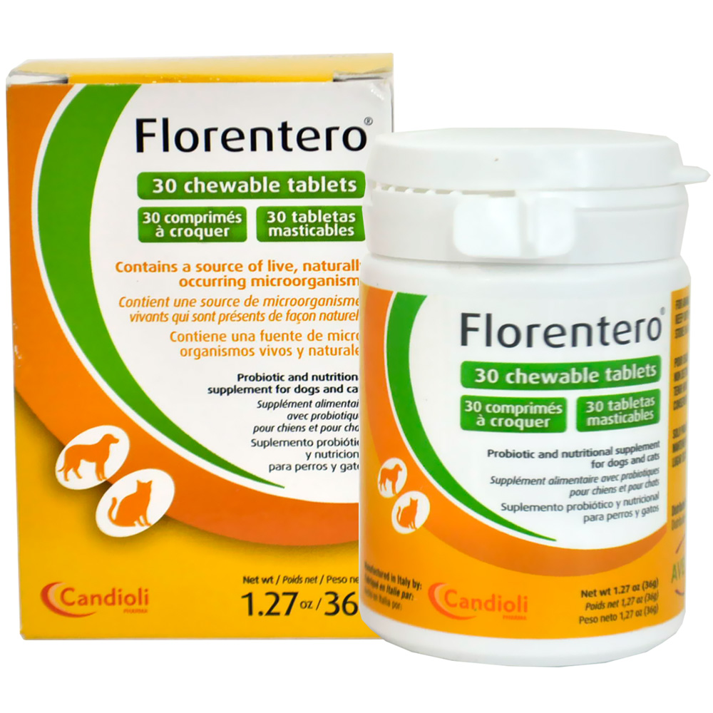 Florentero Symbiotic Chewable Tablets (30 ct)