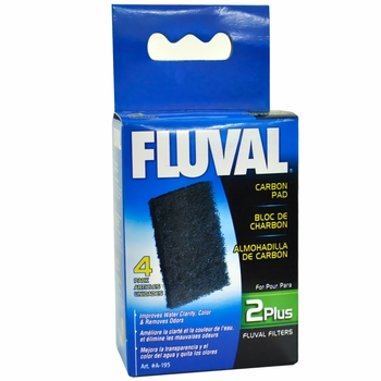 Fluval 2 Plus Carbon Pads (4 Pack)