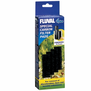 Fluval 4 Plus Carbon Pads (4-Pack)
