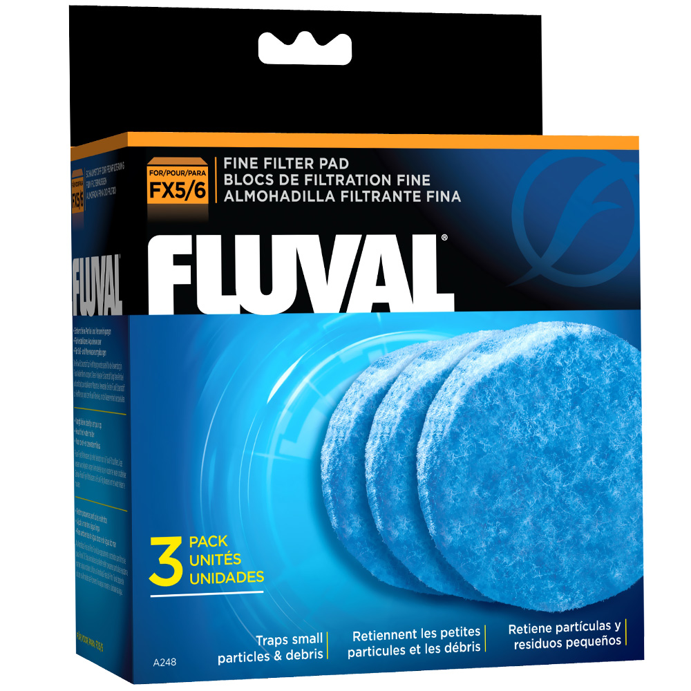 Fluval Fine Filter Pad for FX5 (3 Pack)