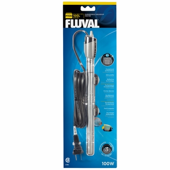 Fluval M100 Submersible Glass Aquarium Heater (100 watts)