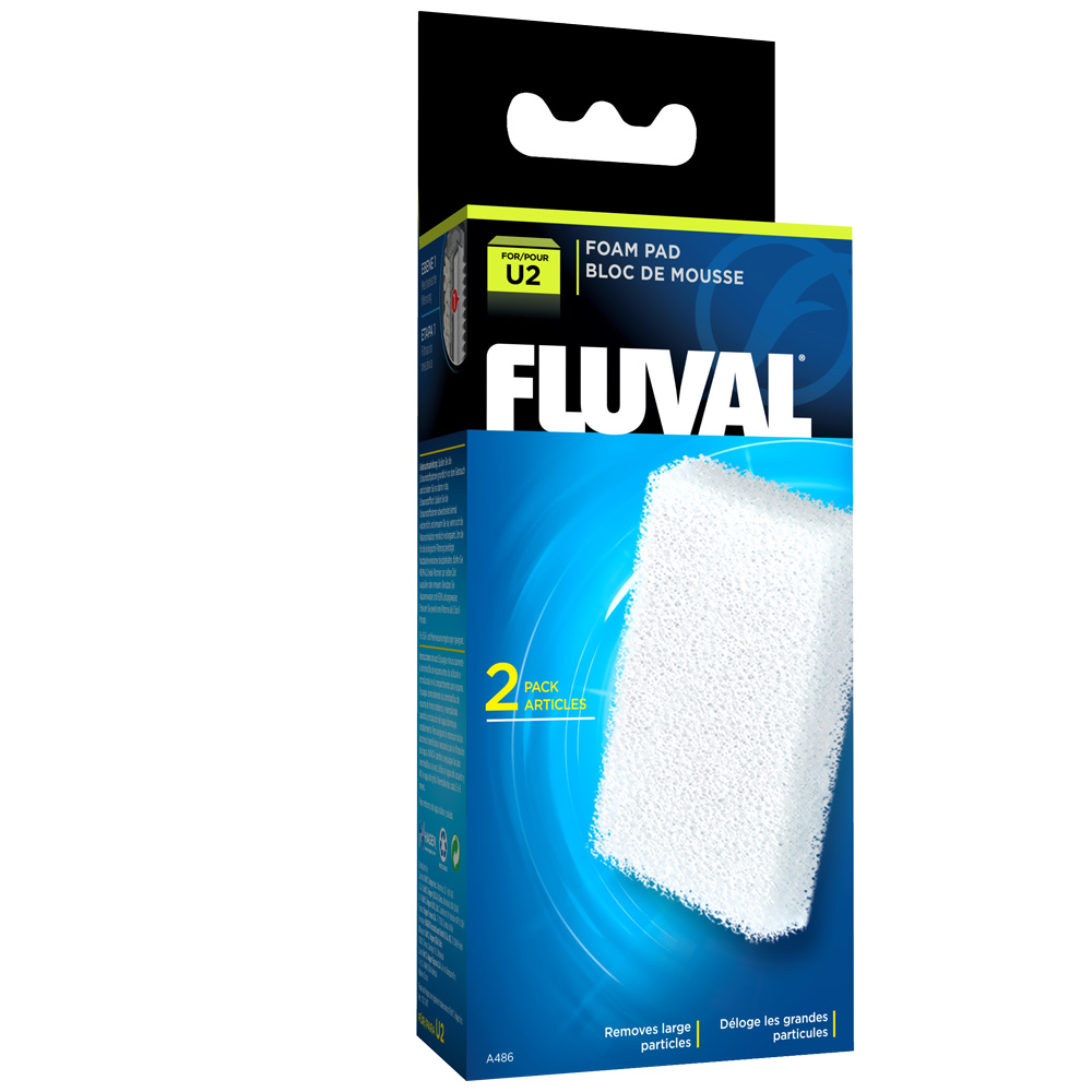 Fluval U2 Filter Foam Pad (2 pack)