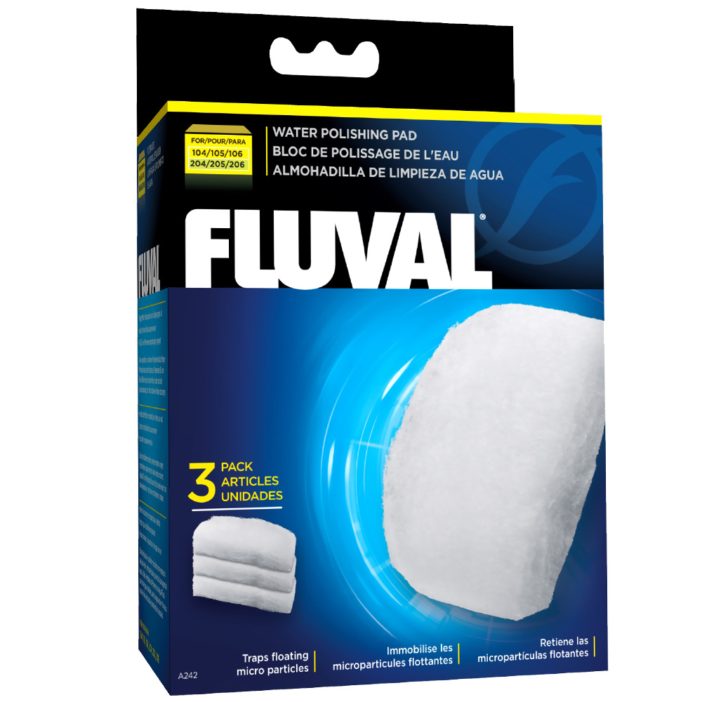 Fluval Water Polishing Pad for 104/105/204/205 Models (3 pack)