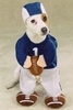 Football Fever Dog Costume - XLARGE