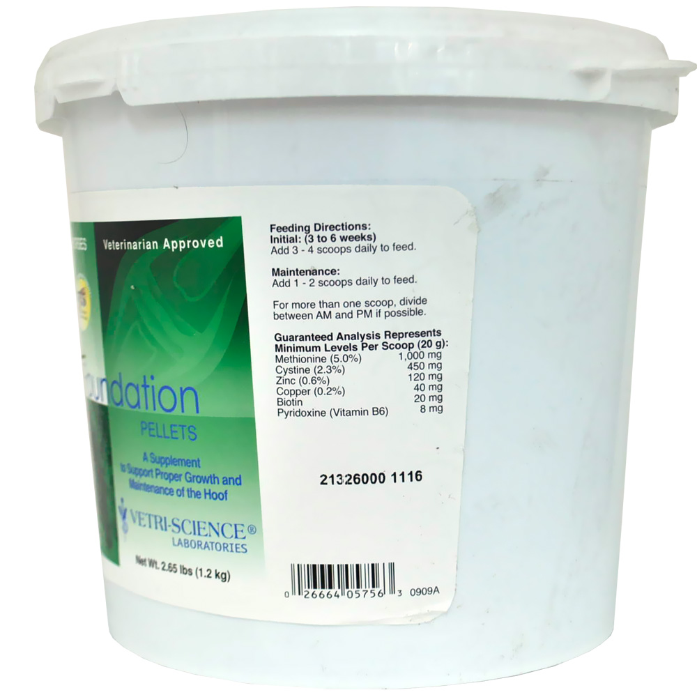 Foundation Pellets 60 Servings (2.65 lbs)