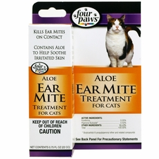 Ear Mite Remedy For Cats Four Paws