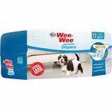 Four Paws Wee-Wee Dog Diapers X-Small (12 diapers)