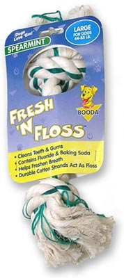 Fresh N Floss Dental Dog Toys!
