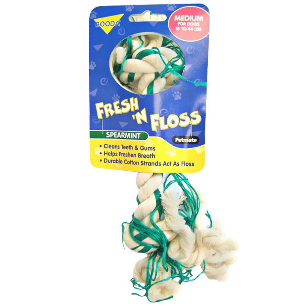 Fresh N Floss Knot Bone - Medium
