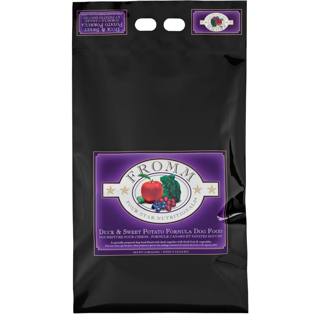 Fromm Four-Star Dog Food - Duck & Sweet Potato (15 lb)