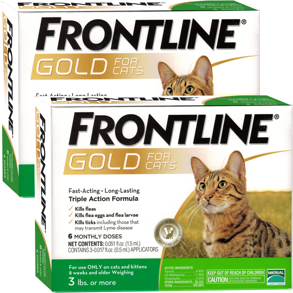 Frontline GOLD for Cats (12 MONTH)