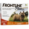 Frontline Plus for Dogs 0-22 lbs- ORANGE, 3 MONTH