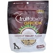 Fruitables Dog Treats - Greek Coconut Yogurt (7 oz)