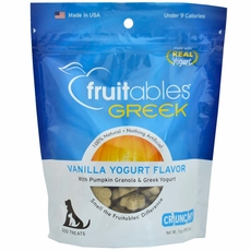 Fruitables Dog Treats - Greek Vanilla Yogurt (7 oz)