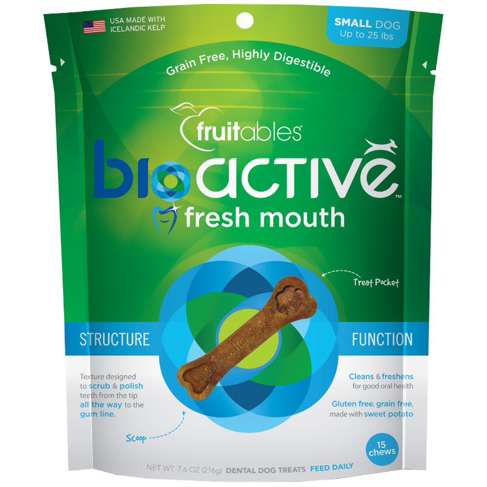Fruitables® BioActive Fresh Mouth Dental Chews
