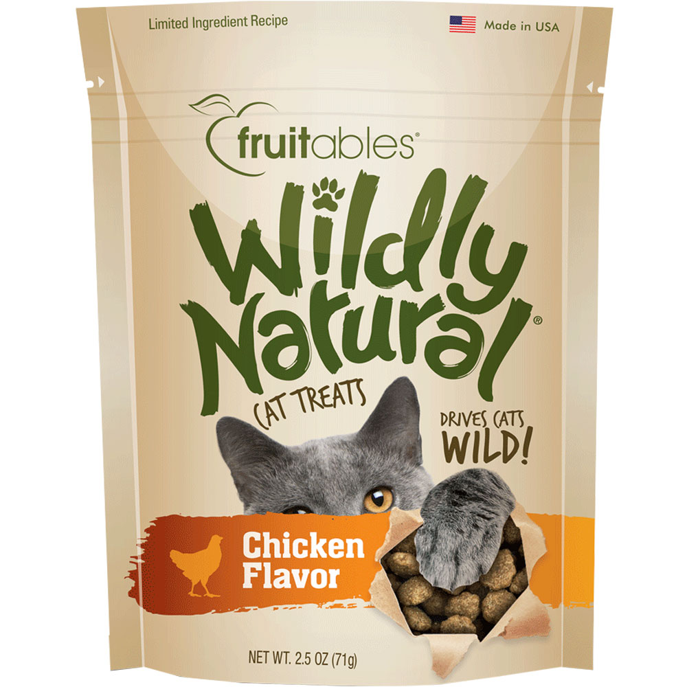 Fruitables Wildly Natural Cat Treats