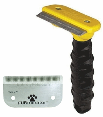 Furminator DeShedding Tool PLUS Replacement Blade (MEDIUM)