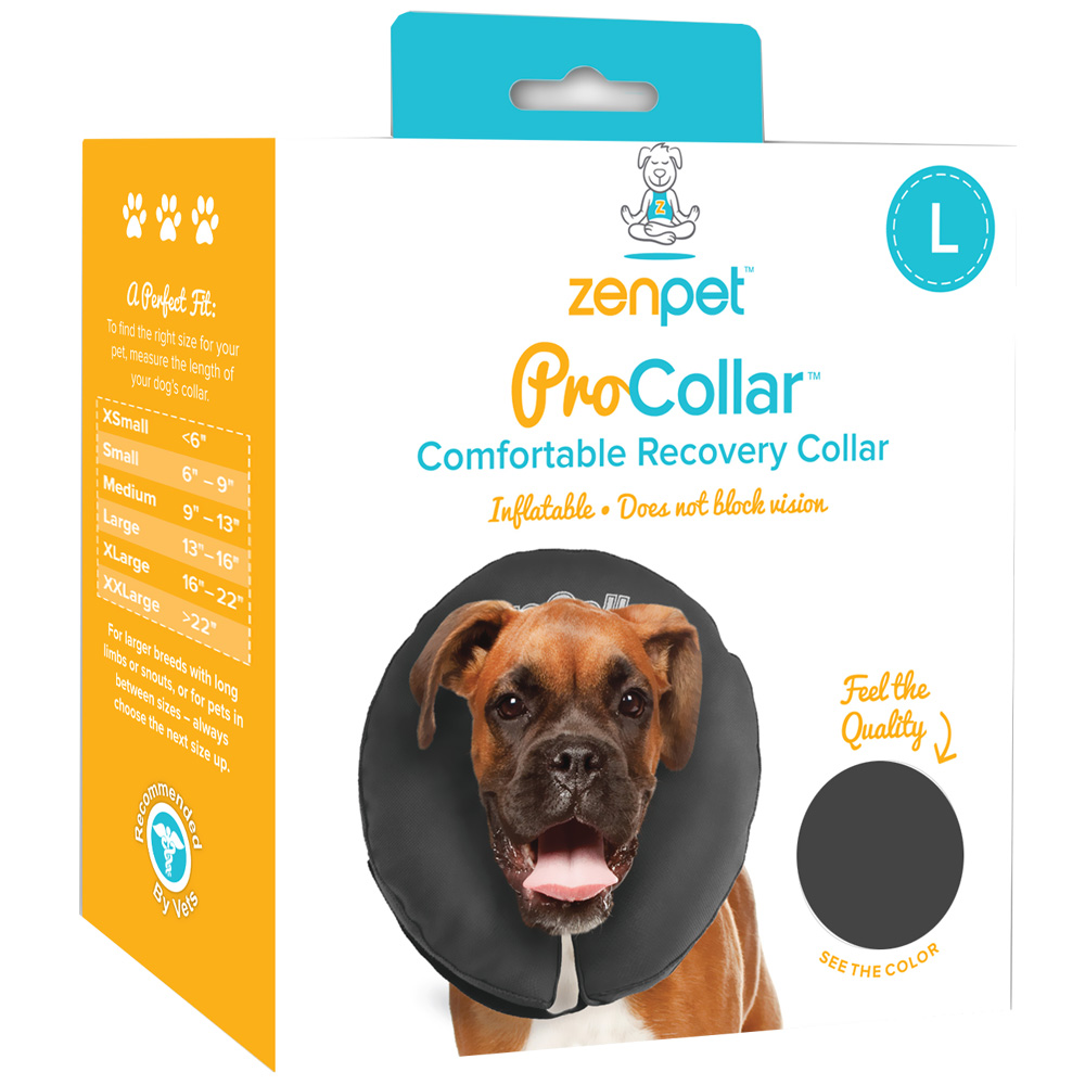 ZenPet™ Comfortable Recovery ProCollar - Large