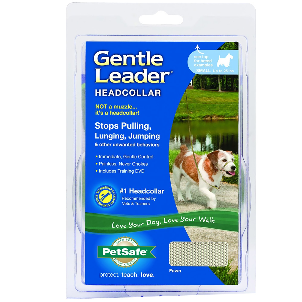 Petsafe® Gentle Leader® Quick Release Headcollar - Fawn (Small)
