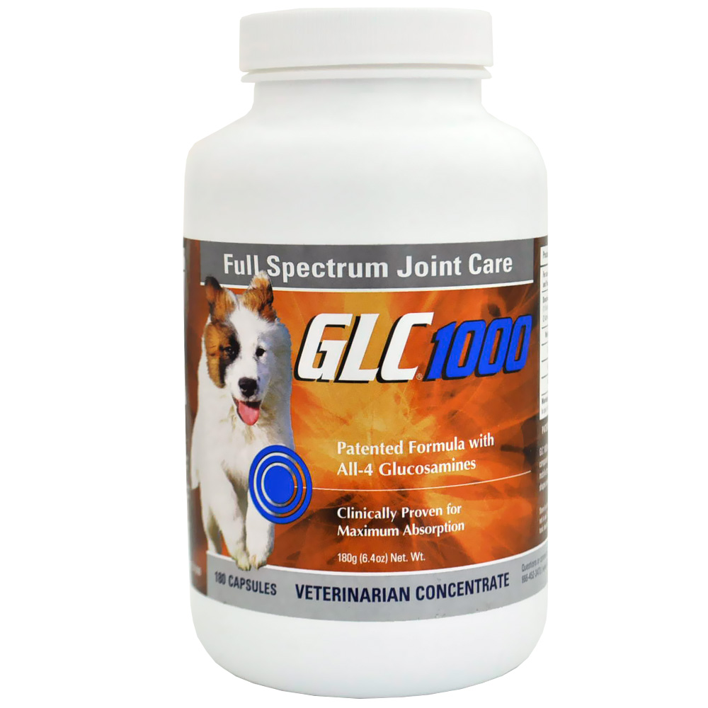 GLC 1000 Canine - LARGE Dog 180 Caps (6.4 oz)