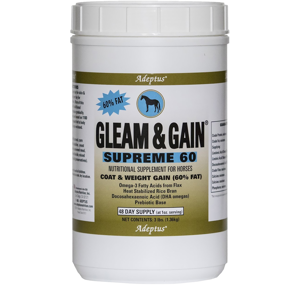 Gleam & Gain® Supreme 60 for Horses