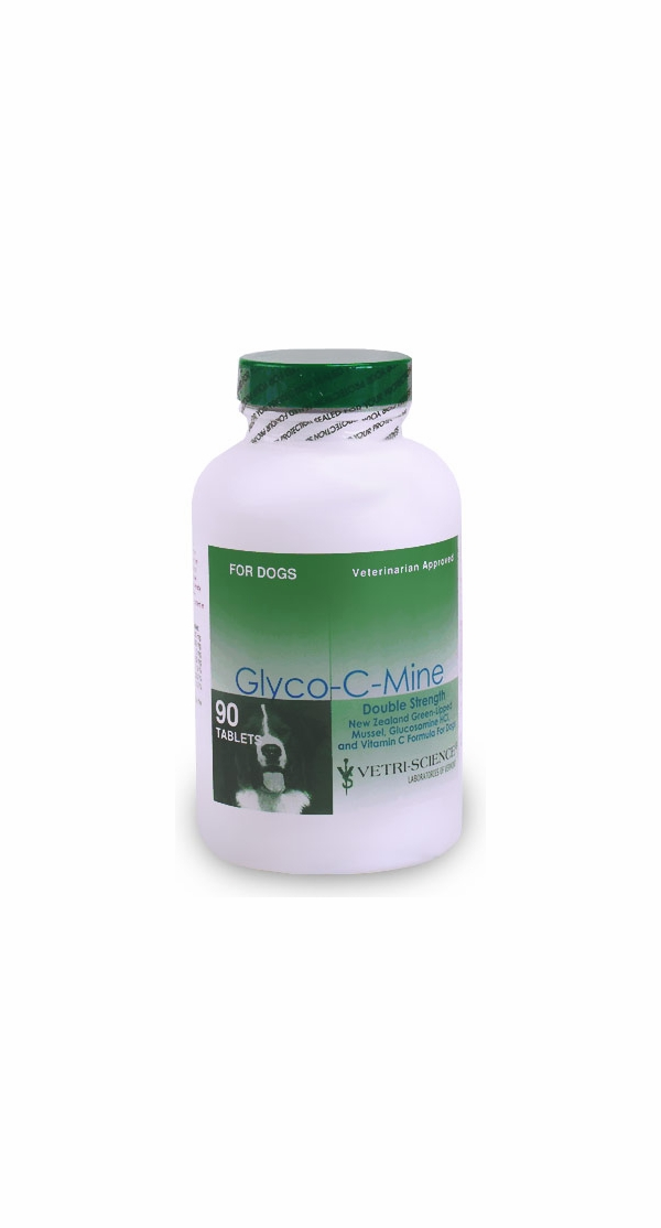 Glyco-C-Mine DOUBLE STRENGTH (90 tablets) by VetriScience