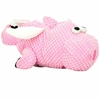 goDog Checkers Flying Pig with Chew Guard - Large