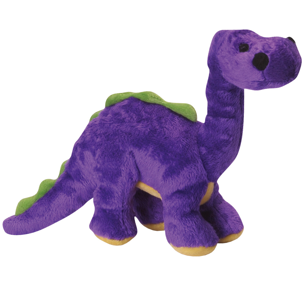 GoDog Dino Bruto with Chew Guard - Purple