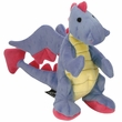 GoDog Dragon with Chew Guard - Periwinkle