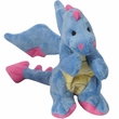 GoDog Mini Dragon with Chew Guard - Periwinkle