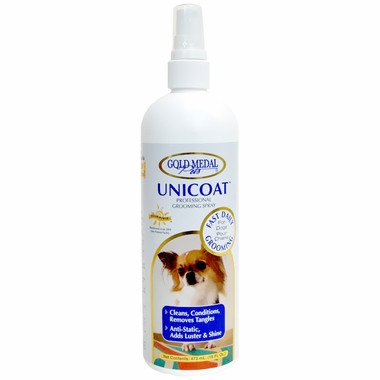 Gold Medal Unicoat Professional Grooming Spray (16 oz)