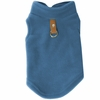 Gooby Fleece Vest for Dogs Blue - Small