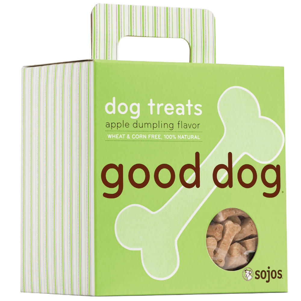Sojo's Good Dog: Dog Treats - Apple Dumpling (8 oz)