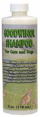 Goodwinol Shampoo for Cats & Dogs (8 oz)