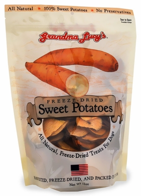 Grandma Lucy's Freeze-Dried Sweet Potato Dog Treats (12 oz)
