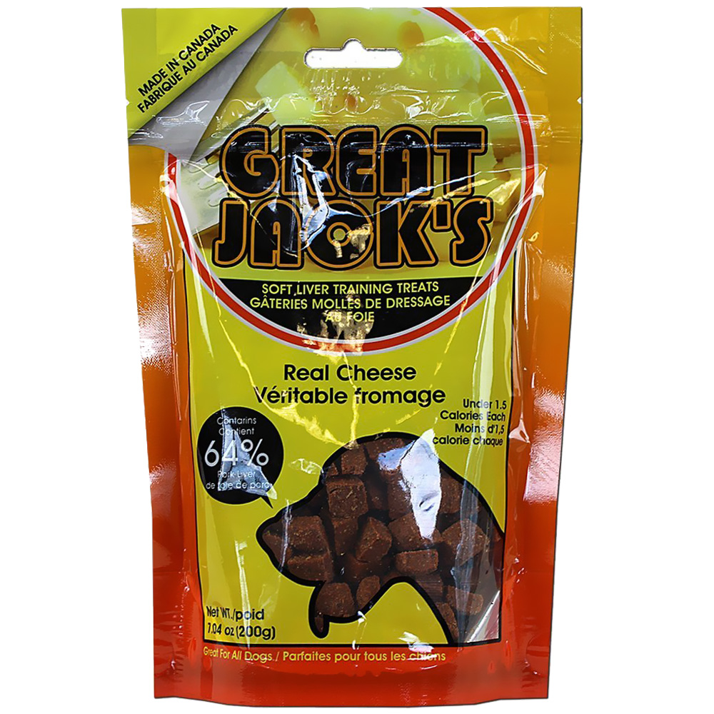 Great Jack's Training Treats - Real Cheese (7 oz)