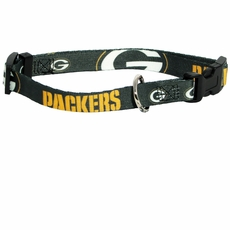 Green Bay Packers Dog Collar - Small
