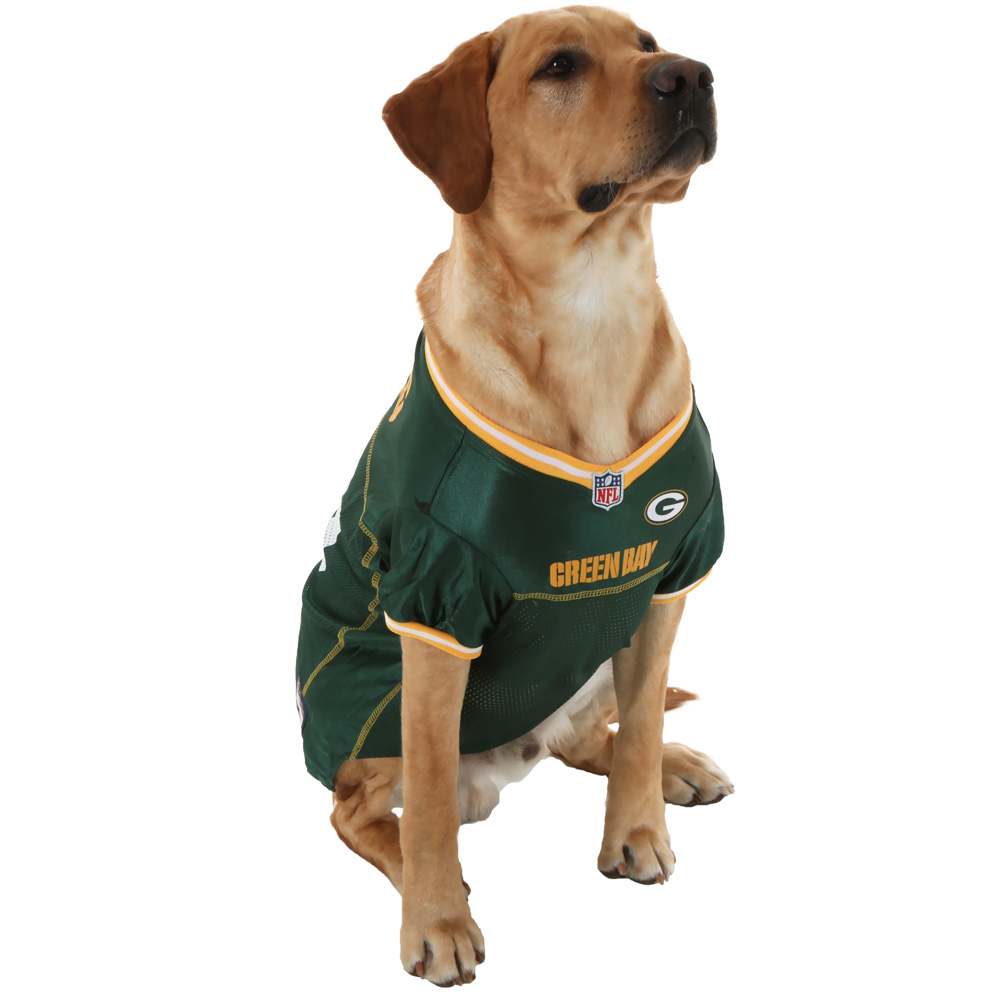 Green Bay Packers Dog Jersey Small Entirelypets